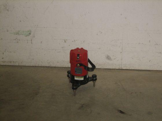 Avvägninsinstrument laser-punkter och linjer