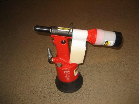 Popnit tryckluft max 4,8mm stål 6,0mm alu