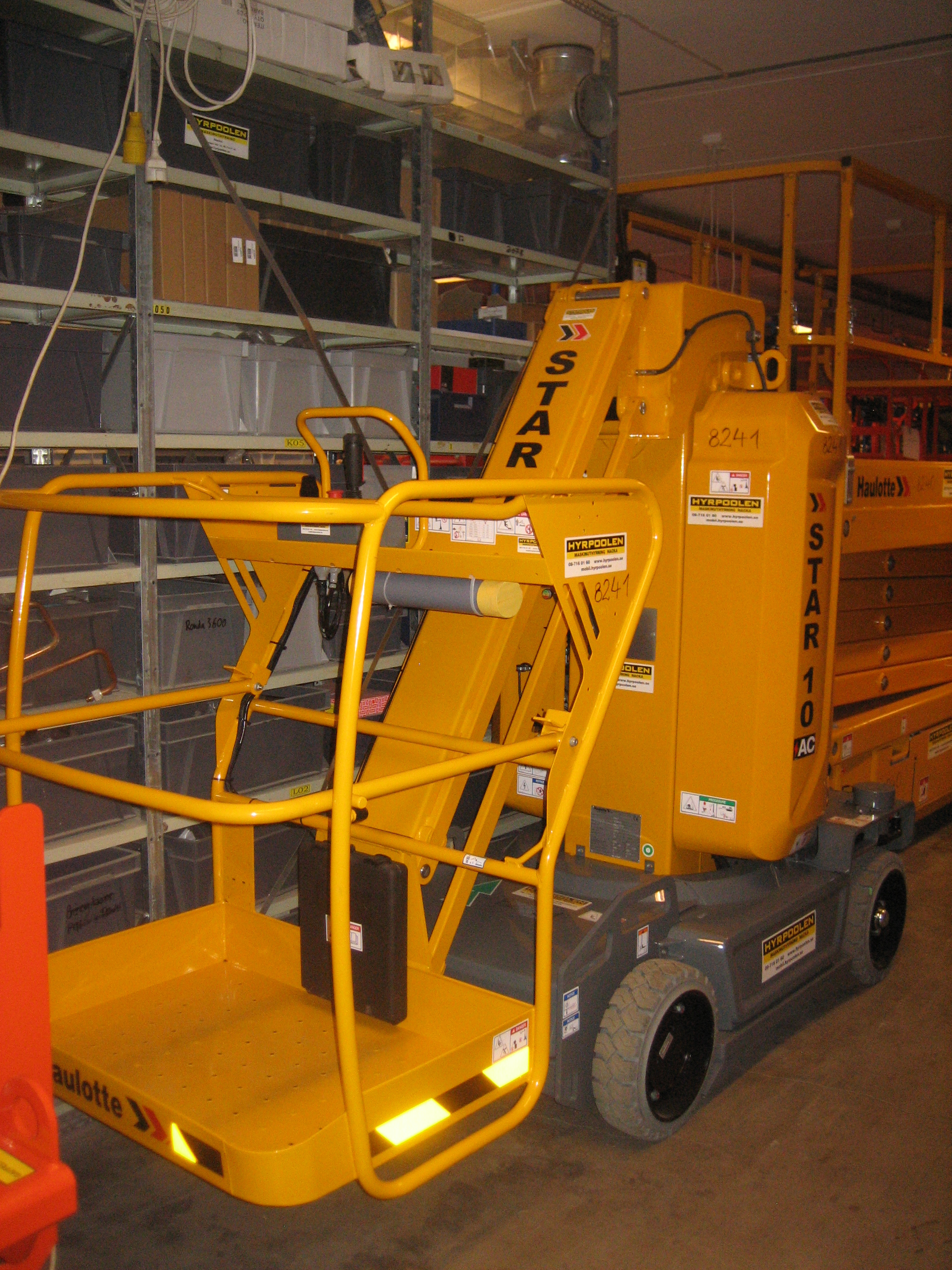 Pelarlift Star 10
