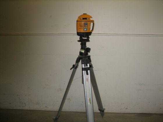Avvägningsinstrument laser enfalls
